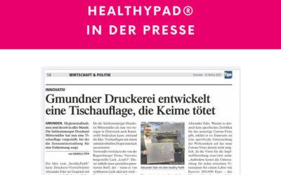 healthyPad® in der Presse