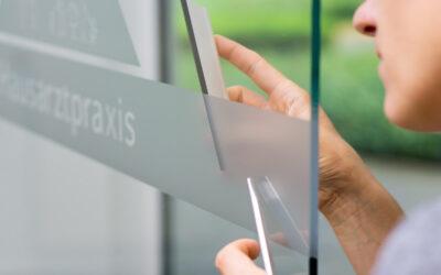 Fensterfolien nach Maß drucken lassen